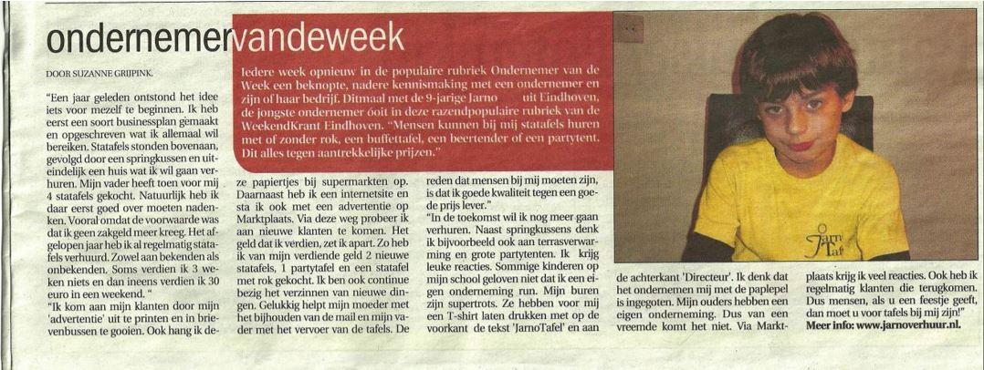 Statafel huen Eindhoven