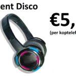 Silent disco te huur