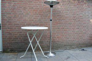 tafel met heater Huren Eindhoven