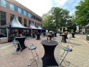 Statafel met barkrukken huren Eindhoven